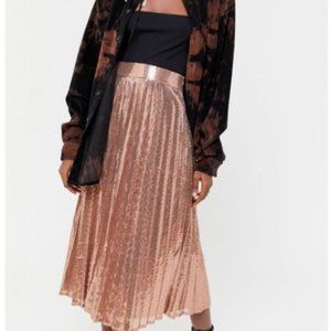 Urban Outfitters UO Midi sequins party skirt sz XS